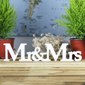 Letras Mr Mrs