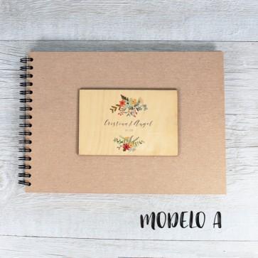 Libro de firmas personalizable