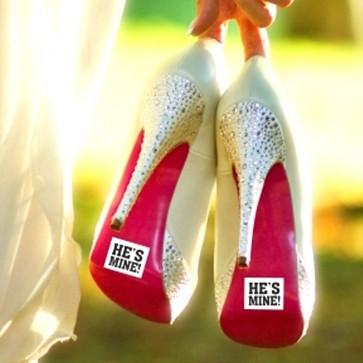 Adhesivos para zapatos de los novios
