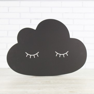 Pizarra con forma de nube