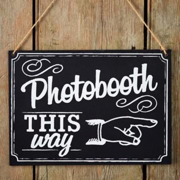 Pizarra Photocall