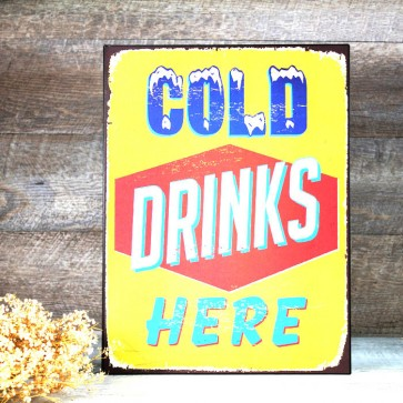 Placa Cold Drinks