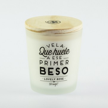 Vela Primer Beso Mr Wonderful
