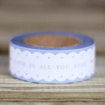 Washi tape Love Is All You Need