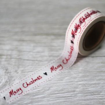 Washi tape Merry Christmas
