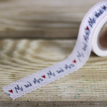 Washi tape Mr Mrs
