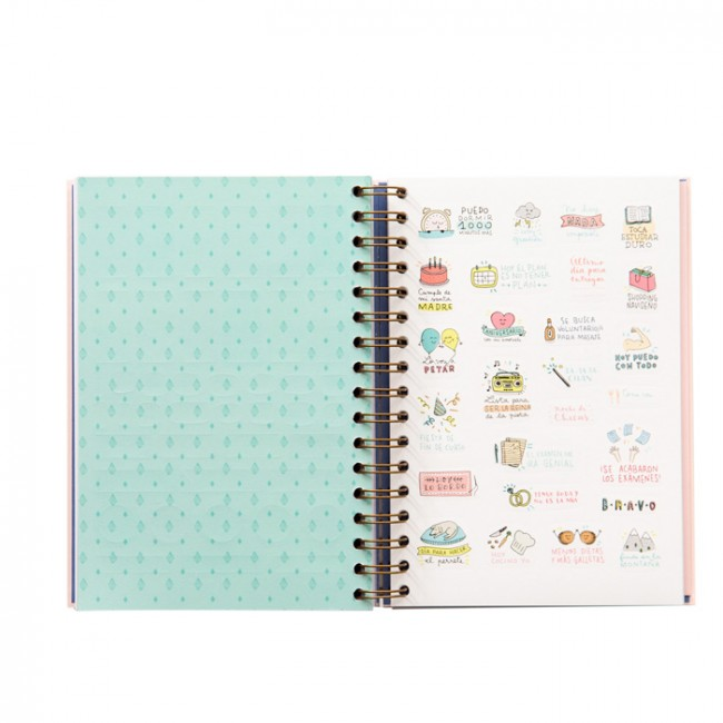 Agenda mr wonderful 2017 d a por p gina una boda original - Agenda de mr wonderful 2017 ...