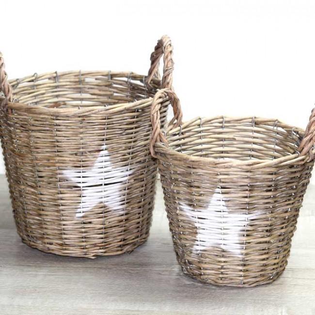 Como hacer cestos de mimbre como hacer cestos de mimbre - Cestas decorativas ...