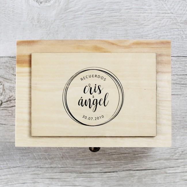 Caja de recuerdos de boda | Una Boda Original
