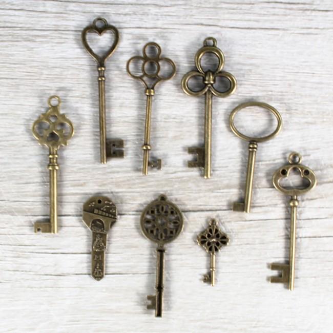 llaves antiguas 65 uds una boda original