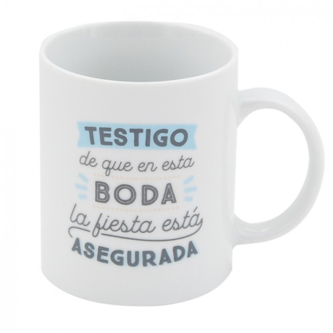 Mr wonderful taza testigo de que en esta boda la fiesta for Decoracion tazas mr wonderful