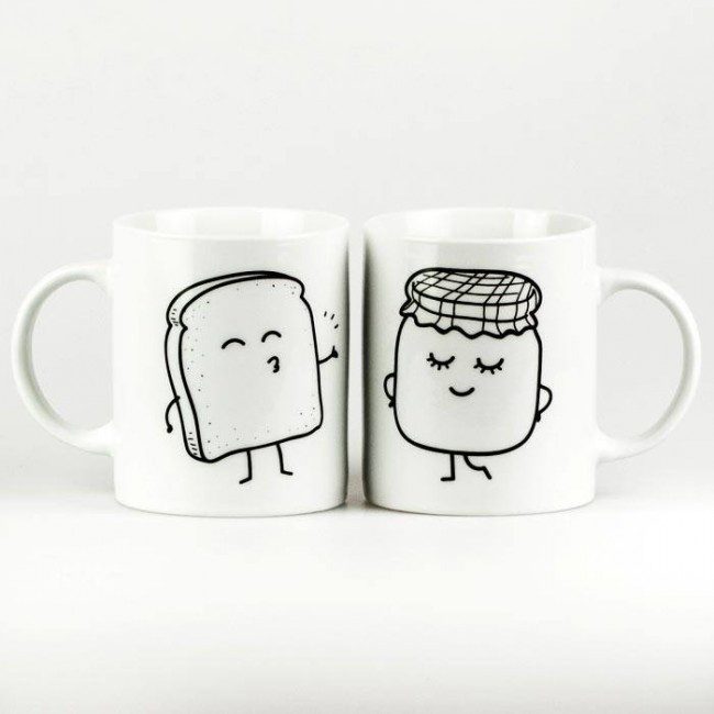 Mr wonderful tazas tostada y mermelada mola mas una boda for Decoracion tazas mr wonderful
