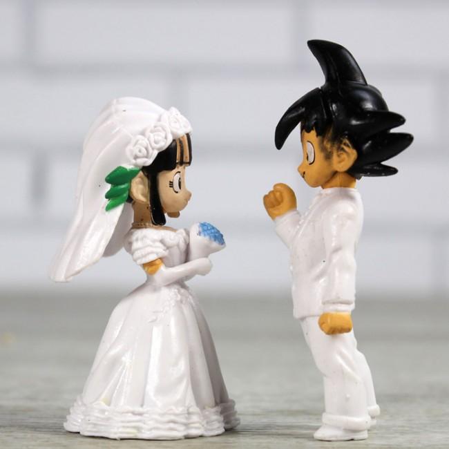 goku vestido de novio
