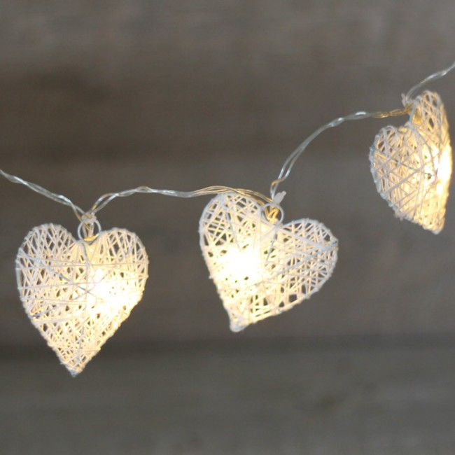 Gurinaldas de luces una boda original - Guirnaldas de luces ...