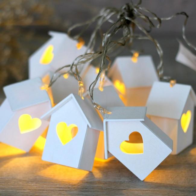 Guirnaldas de luces una boda original - Guirnaldas de luces ...