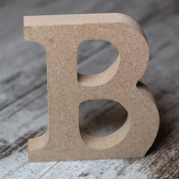 Letras de madera sin pintar 10cmx15mm una boda original - Letras de madera decorativas ...