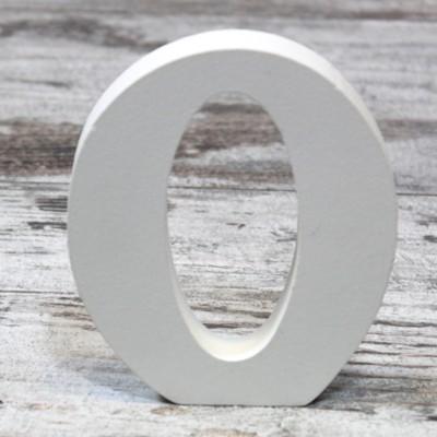 Letras de madera blancas 12x9 5 una boda original - Letras de madera decorativas ...