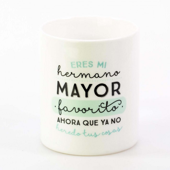 Mr wonderful taza eres mi hermano mayor favorito una for Decoracion tazas mr wonderful