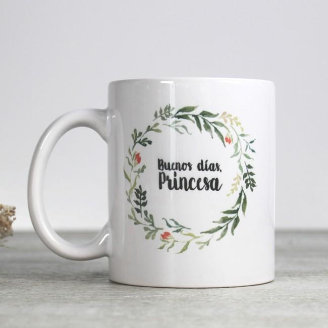 Tazas originales Buenos días, Princesa | Una Boda Original