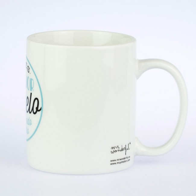 Taza mr wonderful eres el mejor abuelo una boda original for Decoracion tazas mr wonderful