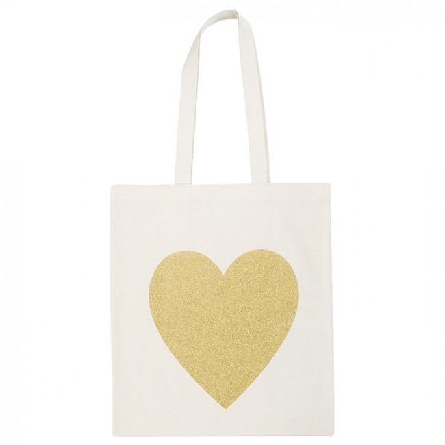 Tote Bag corazones, bolsa tela corazones, bolsa para mujer