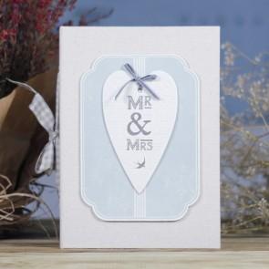 Álbum de fotos de boda Mr Mrs