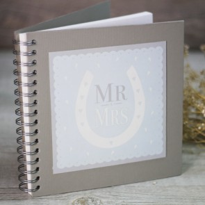 Libro de firmas Scrapbook Mr Mrs