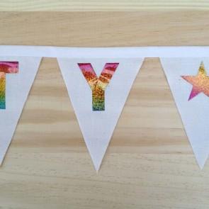 Guirnalda de banderines Party - Fiesta