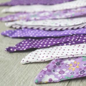 Guirnalda tonos lilas