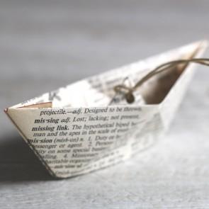 Barquito de origami