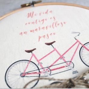Bastidor porta alianzas bicicleta