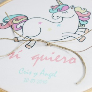 Bastidor unicornio