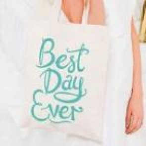Bolsa tela best day ever