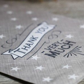 Bolsa papel Thank you (12 uds.)