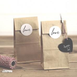 Etiquetas y bolsitas craft