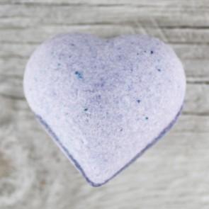 Bombas de baño con forma de corazón
