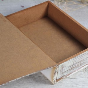 Caja formato libro Jaula Pajaritos