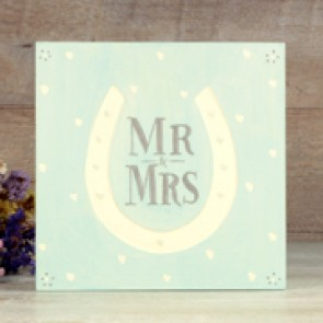 Caja regalo Mr and Mrs