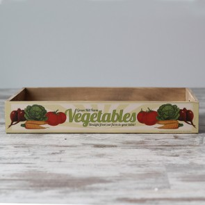 Caja vintage Vegetables