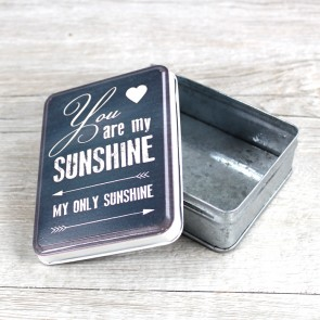 Cajita para regalos You are my Sunshine