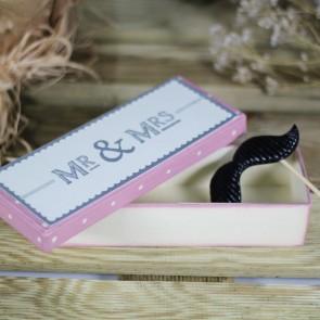 Cajita de regalo Mr Mrs