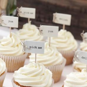 Cake toppers de cupcake