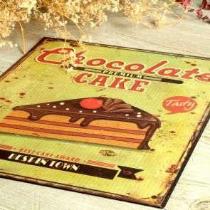 Cartel Chocolat Cake
