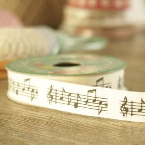 Cinta notas musicales