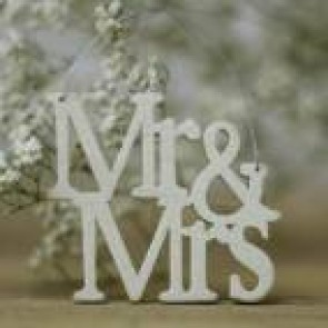 Colgante Mr Mrs