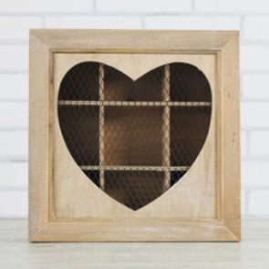 Caja de madera y rejilla