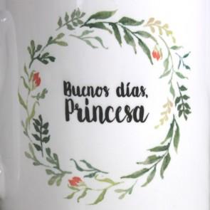 Tazas originales Buenos días, Princesa