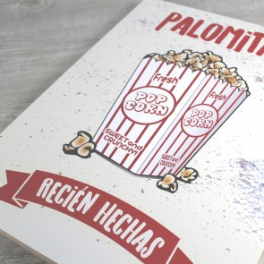 Cartel Palomitas