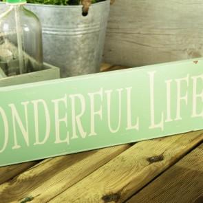 Cartel It's a wonderful life