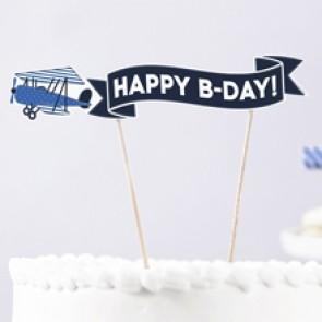 Decoración de tarta con avión comprar